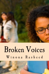Broken Voices with new cover to be seen on Amazon